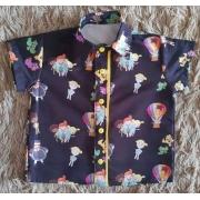 Camisa Mundo Bita Infantil