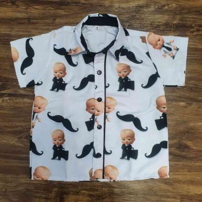 Camisa Poderoso Chefinho Clássica Infantil