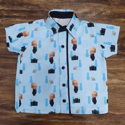 Camisa Poderoso Chefinho Azul