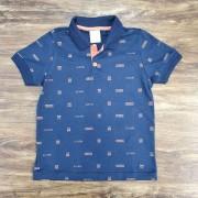 Camisa Polo Action Azul Infantil