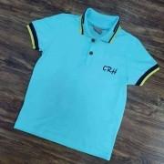 Camisa Polo Azul CRH Infantil