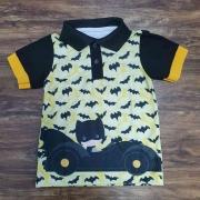 Camisa Polo Batman Infantil