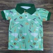 Camisa Polo Safári Infantil