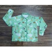 Camisa Safari Longa Infantil