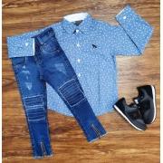 Camisa Social com Calça Infantil