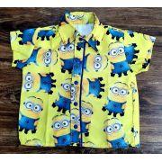Camisa Social Minions
