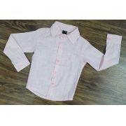 Camisa Social Rosa