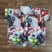 Camisa Vingadores Infantil