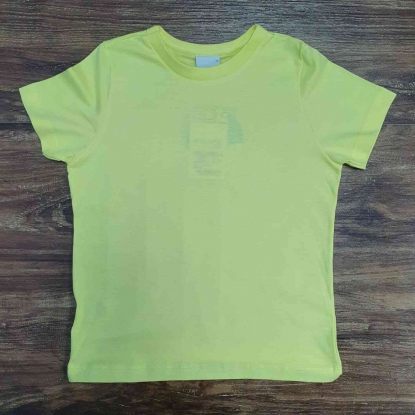 Camiseta Amarelo Neon Infatil