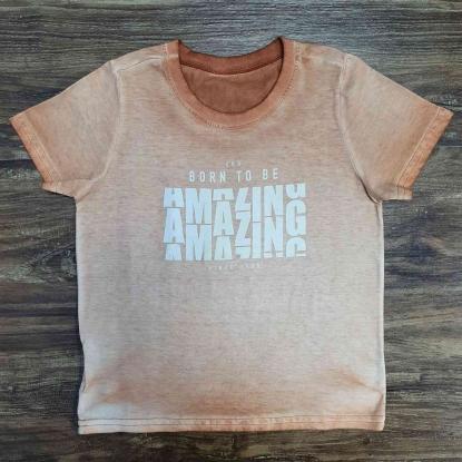 Camiseta Amazing Infantil