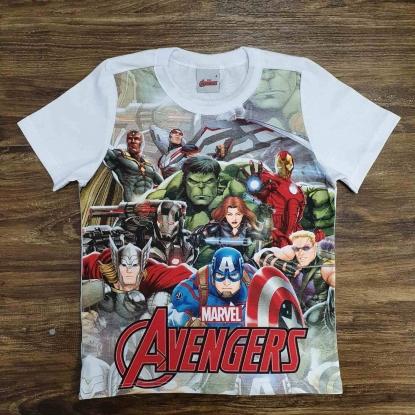 Camiseta Avengers Infantil