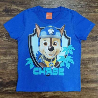 Camiseta Azul Chase Infantil