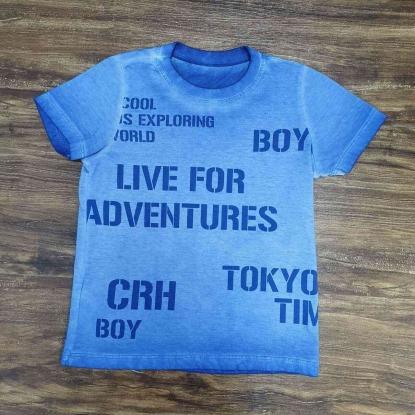 Camiseta Azul Infantil
