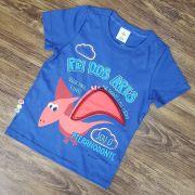 Camiseta Azul Rei Dos Ares