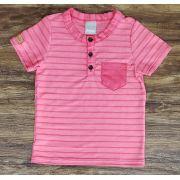 Camiseta Bata Rosa