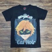 Camiseta Cat Noir Infantil
