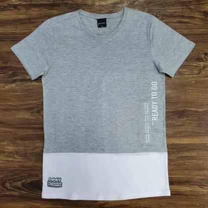 Camiseta Cinza Good Things Infantil