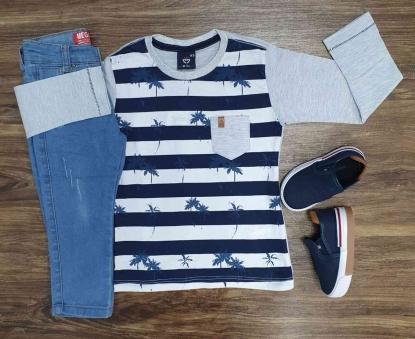 Camiseta com Calça Jeans Infantil