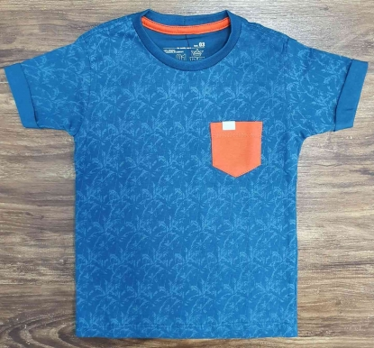 Camiseta Coqueiro Azul Infantil