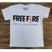 Camiseta Free Fire Infantil