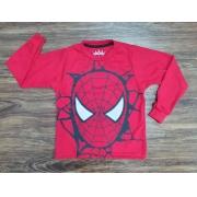 Camiseta Homem Aranha Manga Longa Infantil