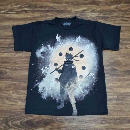 Camiseta Infantil Naruto Hokage