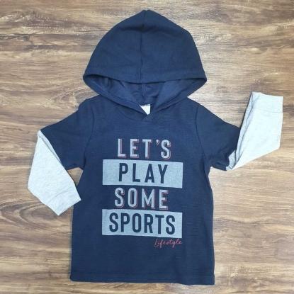 Camiseta Let's Play Infantil