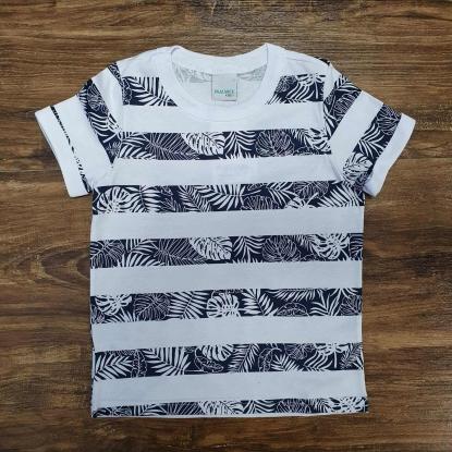 Camiseta Listrada Palmeira Infantil