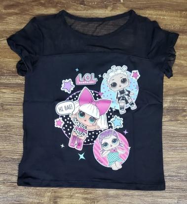 Camiseta LOL Preta