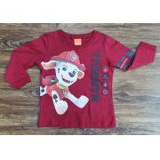 Camiseta Manga Longa Patrulha Canina