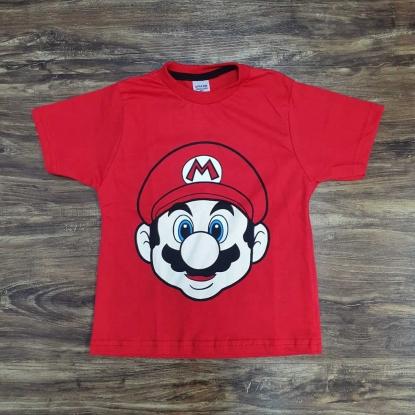 Camiseta Mario Infantil