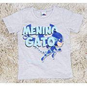 Camiseta Menino Gato PJ Masks