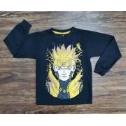 Camiseta Naruto Manga Longa Infantil