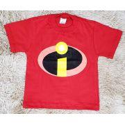 Camiseta Os Incríveis Vermelha