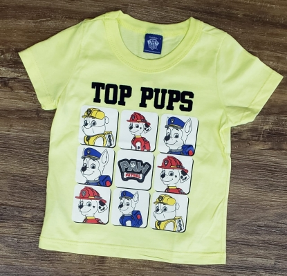 Camiseta Patrulha Canina Amarela