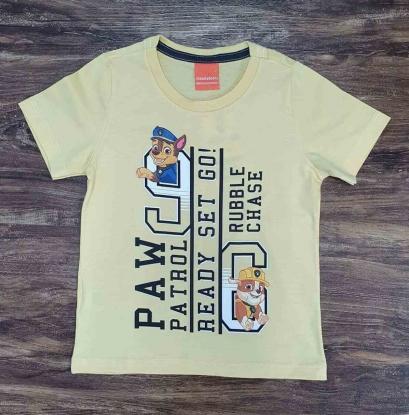 Camiseta Amarela Ready Patrulha Canina Infantil