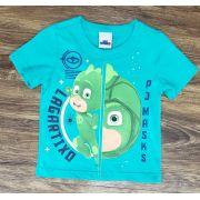Camiseta PJ Masks Verde Água