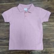 Camiseta Polo Rosa Infantil