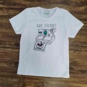 Camiseta Say Cheese Infantil