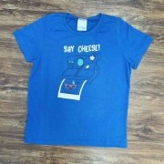 Camiseta Say Cheese Infantil