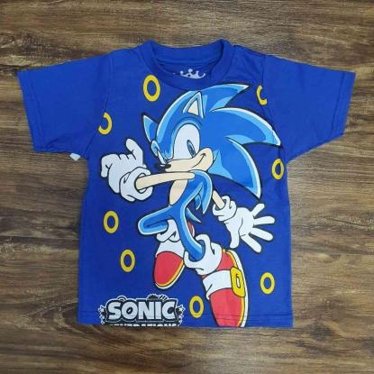 Camiseta Sonic Infantil