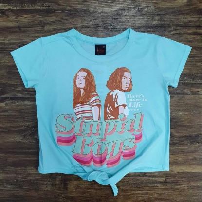 Camiseta Stranger Things Azul