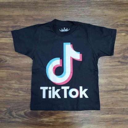 Camiseta Tik Tok Infantil