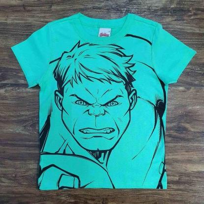 Camiseta Verde Incrível Hulk Infantil