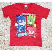 Camiseta Vermelha PJ Masks