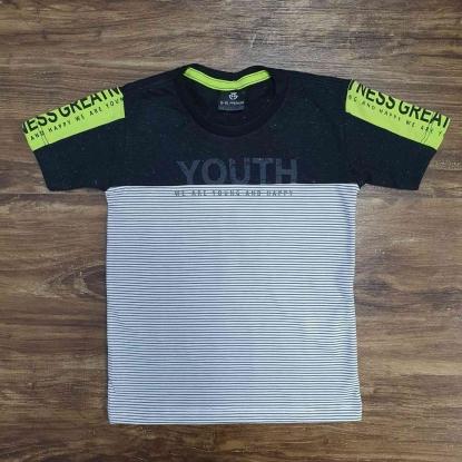 Camiseta Youth Preta Infantil