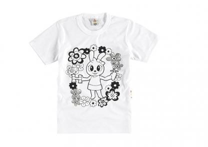 Camiseta Zig Zig Zaa Para Colorir