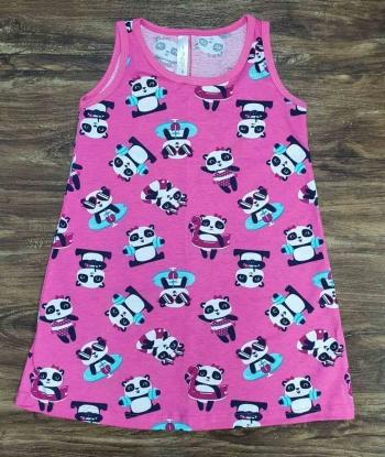 Camisola Curta Panda Infantil