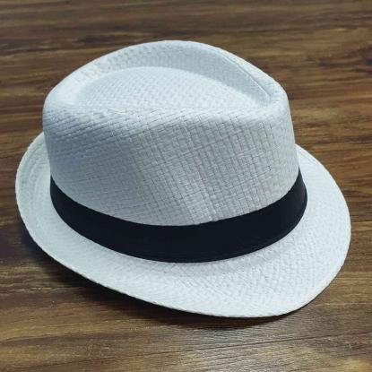Chapéu Panamá Branco Infantil