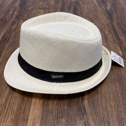 Chapéu Panamá Infantil Branco